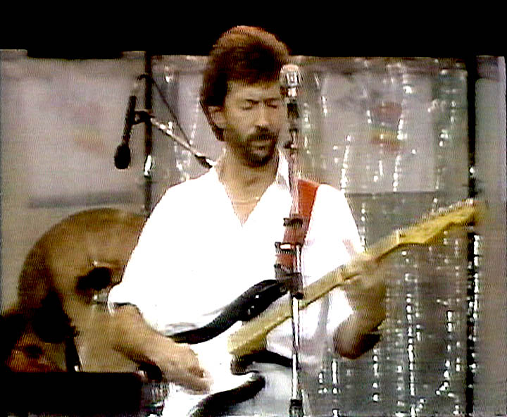 In A White Room Eric Clapton